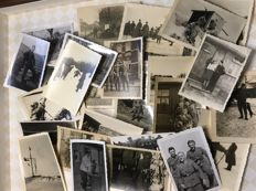 2) Original lot of 33 Third Reich photos / 1 postcard German Wehrmacht, 1/33