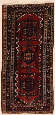 Hand-knotted Persian carpet – Songhur – 1.44 x 3.08 m – Iran