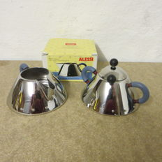 Michael Graves for Alessi - Milk jug and sugar bowl with spoon