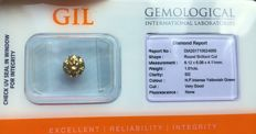 """Rare"" Diamond - 1.01 ct - Natural Fancy Intense Yellowish Green  SI2 - No Reserve Price"