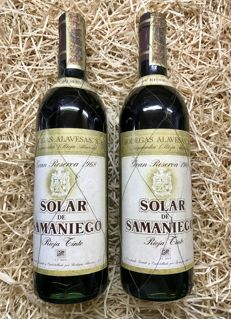 1968 Solar De Samaniego Great Reserve - 2 bottles (0,75cl)