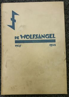NSB; H. Reydon a.o.. - Lot with 10 copies of 'De Wolfsangel' and 2 copies of 'Der Vaderen Erfdeel' - 1937/1938