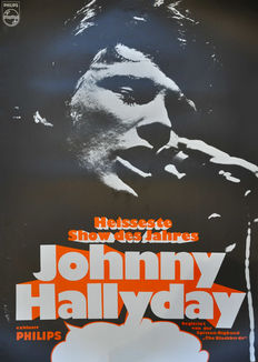 Anonymous - Johnny Hallyday - ca. 1970