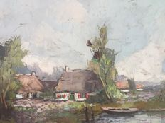 Beaufort and Van Rijn (20th century) - 2 x herfstlandschap