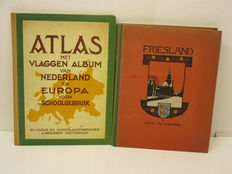 Picture card album; J.P. Thijsse - Friesland - 1918