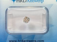 Brilliant cut diamond 0.46ct. W H P1 with HRD certificate