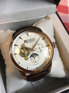 """Barkers of Kensington """"Limited Edition Moonphase"""" -- men's wristwatch -- 2017 -- unworn, in mint condition."""