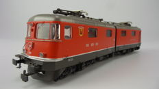 """HAG H0 - 198 - Heavy articulated electric locomotive Series Re 6/6 """"Wolhusen"""" of the SBB"""