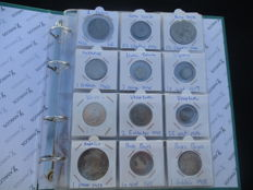 World - Collection of coins 1650/1965 (60 pieces) including silver