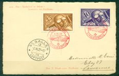 Switzerland 1925/1941 - Zeppelin and 1st Flight Aerogrammes Collection of 10 covers and postcards