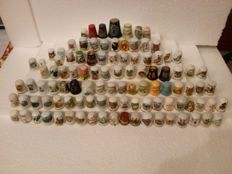 "Collection of 104 different thimbles Theme: ""the islands of the world"" - Collection of 104 thimbles Theme: ""the islands of the world""."