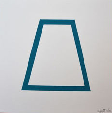 Sol LeWitt - Series Five Geometric Figures in Five Colors