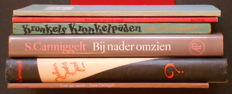 Simon Carmiggelt; Lot with 6 of his books - 1941 / 1986