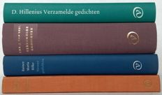 Poetry; Lot with 4 poetry collections of publisher Van Oorschot - 1954 / 1997