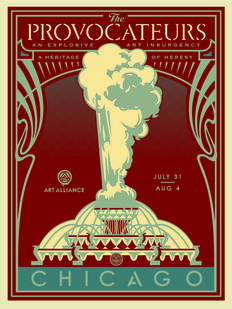 Shepard Fairey (OBEY) - The Provocateurs (Blue)