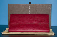 Louis Vuitton - Continental Epi red  wallet - *No Minimum Price*