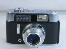 Voigtlander VITO CD, 35mm viewfinder camera, Lanthar 50mm/2.8 lens. ca. 1964, EXC++