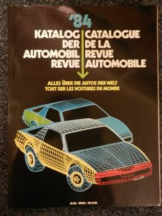 AUTOMOBIL REVUE 1984 and 1986, AUTOTEST 1977 - Books - 1977, 1984 and 1986