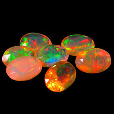 Lot of white Opals - 3.22 ct (7)