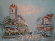 C. Burnett - Montmartre Paris