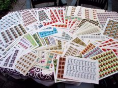 Soviet-Union 1960s/1990s – Batch with 219 complete sheets