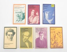 "Lot with 7 volumes in the ""Privé-domein"" series of Arbeiderspers - 1983 / 2005"