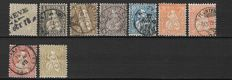 Switzerland 1862/1932 - Selection between Michel 20/255