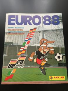 Panini - Euro 88 in West Germany - Complete album