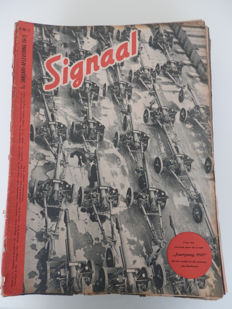 Propaganda; Signaal/Signal - 36 issues (including duplicates) - 1943