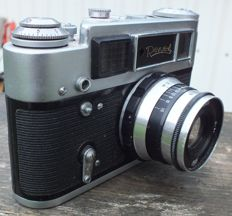 Camera REVUE 4 Made in USSR (same build as FED 4)