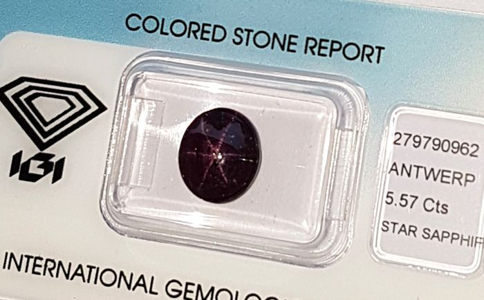 Star Sapphire  - 5.57 ct - No Reserve