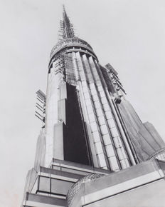 Unknown / UPI - Empire State Building antennas, 1954