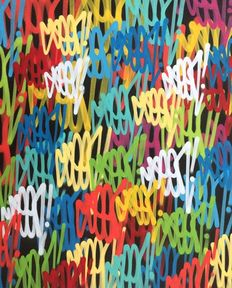 "SEEN (Richard Mirando) - ""Large Multi Tags"""