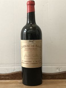 1947  Château De Sales , Pomerol   -  Total  1 bottle