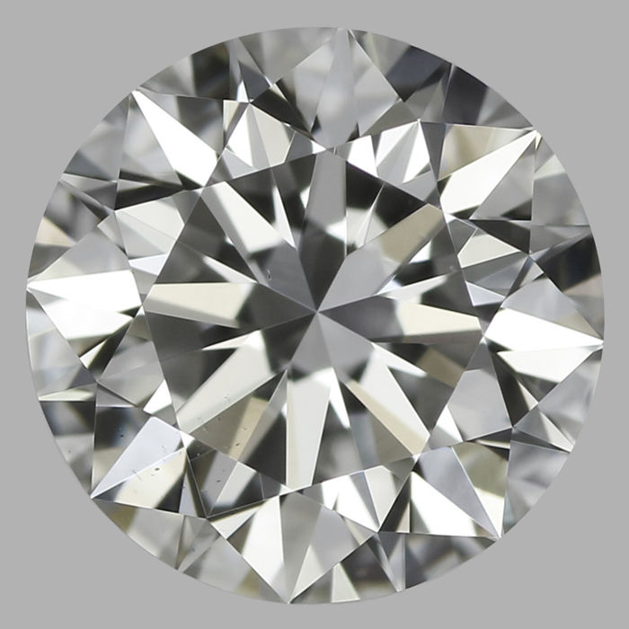 Round Brilliant Diamond 0.60 Carat , G VS1  Cert: GIA  #DS-24 -original image10X
