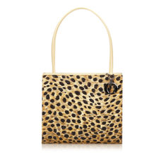 Dior - Leopard Print Nylon Shoulder Bag