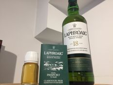 Laphroaig 18 years old + free sample