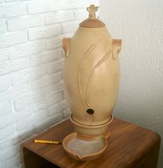 Holy water font, earthenware - the Netherlands - Circa 1950/60