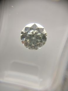 1.14 ct Round cut diamond F SI2   No Reserve Price