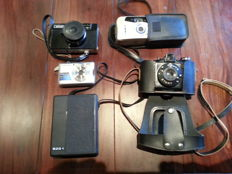 Various cameras for collectors