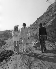 Unknown/Dufoto - Mick Jagger and Marianne Faithfull, San Remo, Italy, 1967