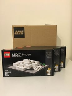 Billund Exclusives 3x - 4000010 - LEGO House
