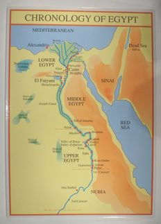 detailed Chronology & History of Egypt on paper