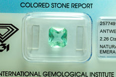 Emerald - 2.26 ct - No Reserved Price