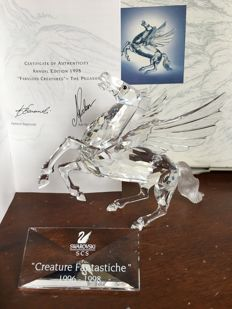 Swarovski - Pegasus, annual edition - Fabulous creatures plaque