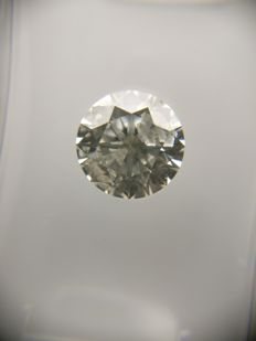 1.16 ct Round cut diamond I I1    No Reserve Price