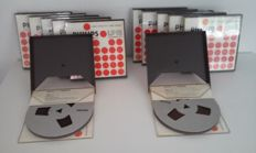 10 Philips LP18 Reel to Reel audio tapes (high output)