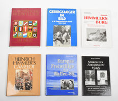 Six books about the Waffen-SS and Heinrich Himmler - 1976/2000