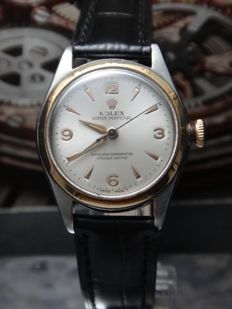 Rolex - Bubble Back Oyster Perpetual - 5007- Men - 1940's