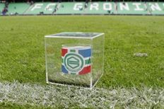 The original captain band of the match FC Groningen - Ado The Hague including match visit on February 11, 2018
